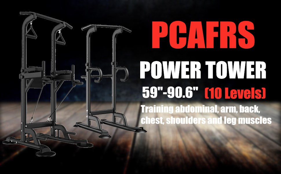 PCAFRS Power Tower Dip Station