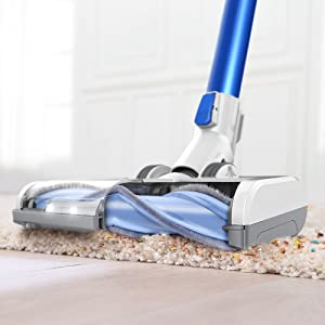 Deep Cleans Hard Floors and Carpets