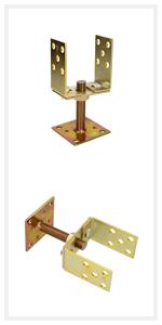 KOTARBAU U-paaldrager, vensterdeuren, grendel, scharnieren, banden, ventilatierooster, paaldrager