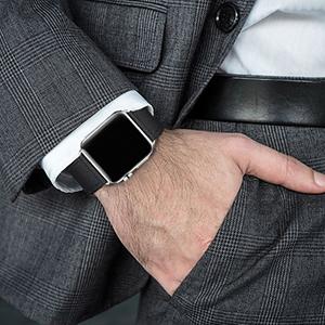 black apple watch band