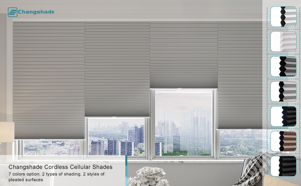 Changshade Cellular Shades
