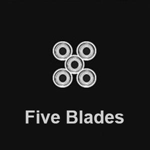 five blades