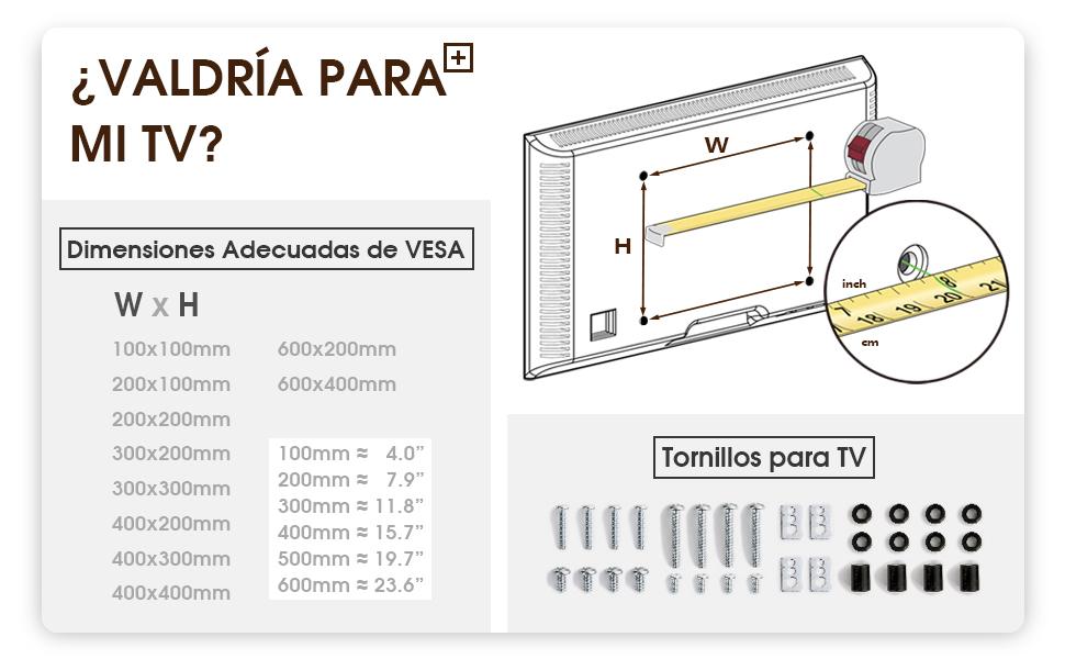 RFIVER Soporte TV con Ruedas de Suelo Carro TV Móvil para televisiones 32 37 42 47 50 55 60 65 70 Pulgadas LCD LED Plana Curva Negro MT1003: Amazon.es: Electrónica