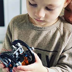 13 - CIRO STEM Projects | 12-in-1 Solar Robot Toys, Education Science Experiment Kits For Kids Ages 8-12, 190 Pieces Building Set For Boys Girls