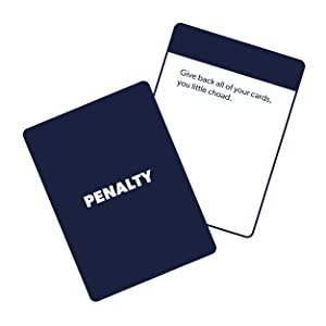 penalty card, party game