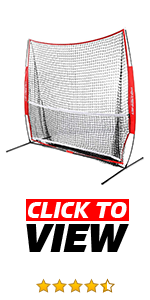PowerNet 7x7 Multisport Hitting Net works great for multiple sports!