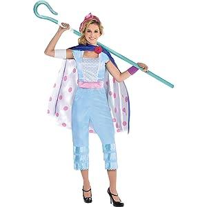 Bo Peep Halloween Costume- Toy Story Bo Peep Costume Bo Peep Gymnastics Dance Leotard Bo Peep Inspired Costume SENDesigne Costumes