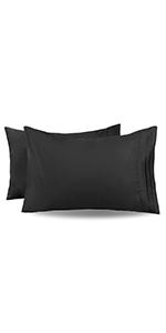 Black Pillowcases Queen