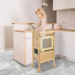 Kitchen Helper Stool for Kids