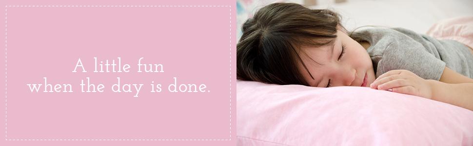 Little Sleepy Head Toddler Pink Marble Pillowcase 13 x 18