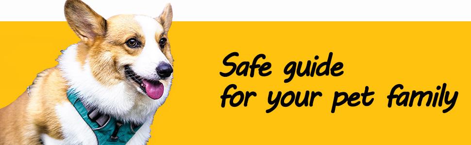 Pet Dog Cat Seat Safety Belt Latch Buckle No-Chew Leash Restraint