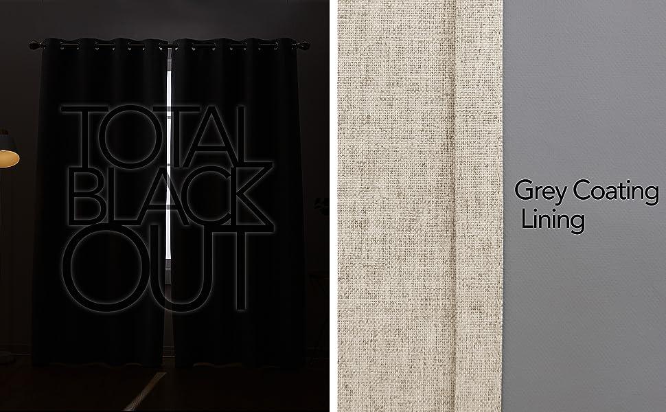 window treatments blackout curtains light blocking total blackout curtains full blackout curtains