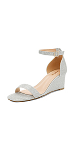 women dress wedge sandals wedding party bride daily shoes