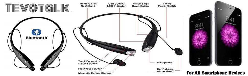WIRELESS NACKBAND BLYETOOTH HEADPHONE WITH MICROPHONE