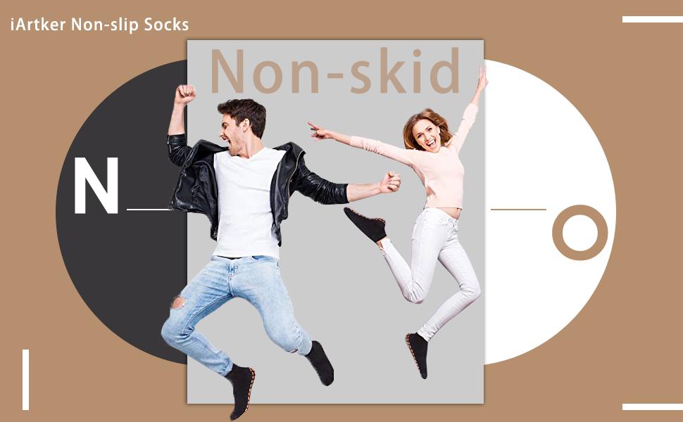 iArtker Non Slip Socks