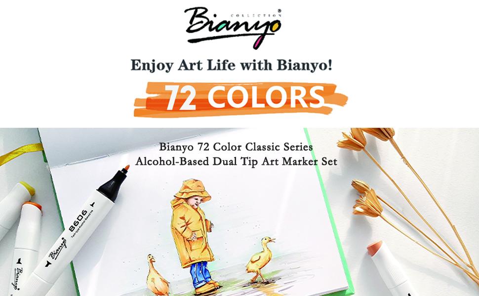 Bianyo Markers - Enjoy Art Life