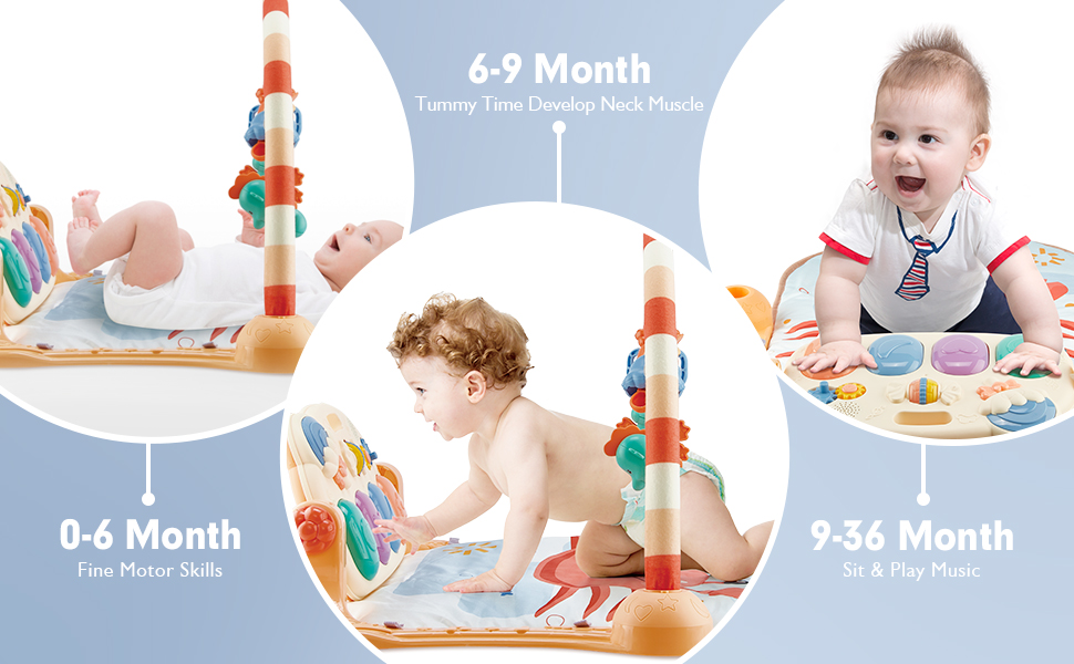 baby gyms and activity play mat