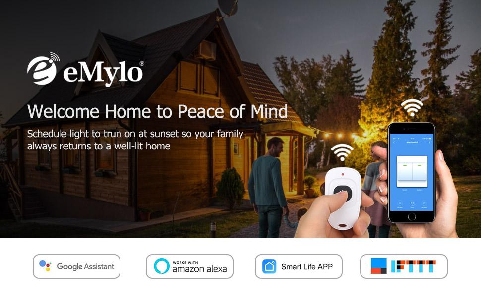 eMylo Smart WiFi RF interruptor