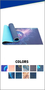 Yoga Mat 6mm Thick with Straps and Carry Bag