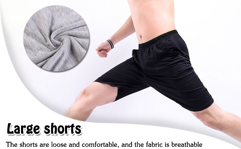 loungewear shorts for men