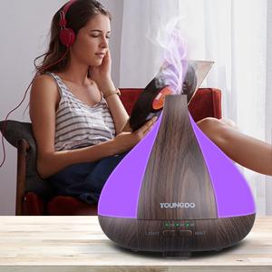 Elektrisch Ultraschall Luftbefeuchter Aroma Diffuser Aromatherapie Duftlampe NEW