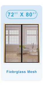 fiber glass screen door