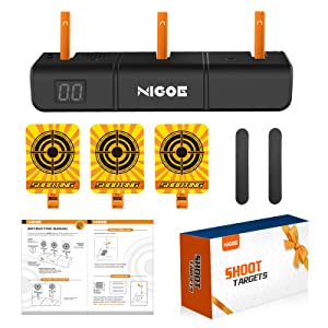 all accessories of NIGOE electronic shooting targets