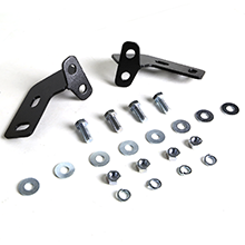 Replacement for RAV4 XA30//XA40 3 inches Chrome Bumper Push Bull Bar Skid Plate Relocation Kit