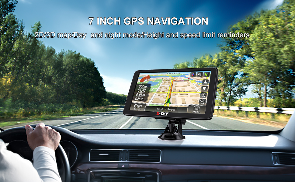 7 INCH GPS NAVIGATION
