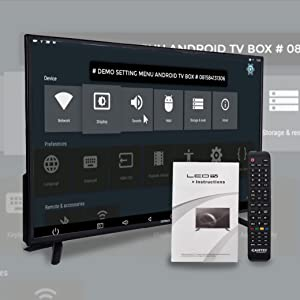 eairtec tv 32 inches smart hd full 4k ready fire stick led android monitor