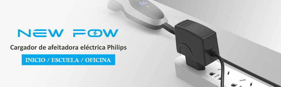NEW POW Cargador de afeitadora eléctrico de 15V 500mA para Philips ...