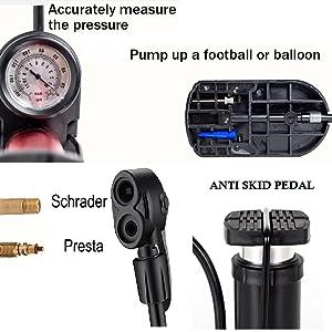 Pressure Gauge, Pedal, Valves & Basement