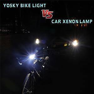 Rawisu Juego de Luces LED para Bicicleta Recargable por USB luz Trasera luz Trasera Faro Impermeable para Bicicleta Bicicleta de monta/ña luz Delantera