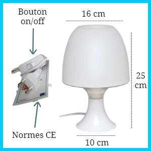 Lampe de Chevet Enfant Veilleuse Personnalisée Prénom - Chambre Bébé  Cadeau Naissance  Anniversaire