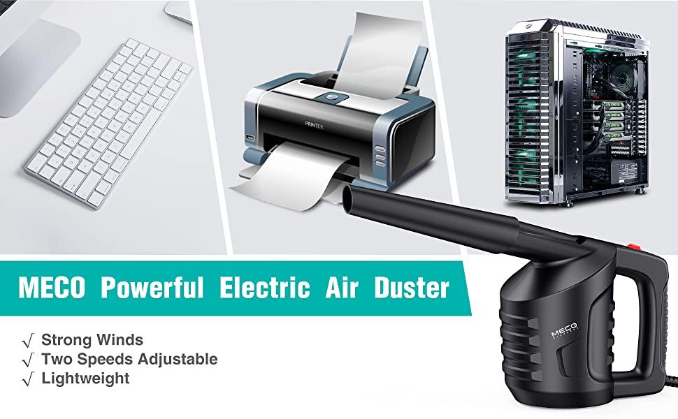 MECO Soplador de Aire Mini Limpiador de aire comprimido de Alta Presión Soplador para Teclado PC, Polvo, Migas, Ordenador Portátil, Ventiladores de ...