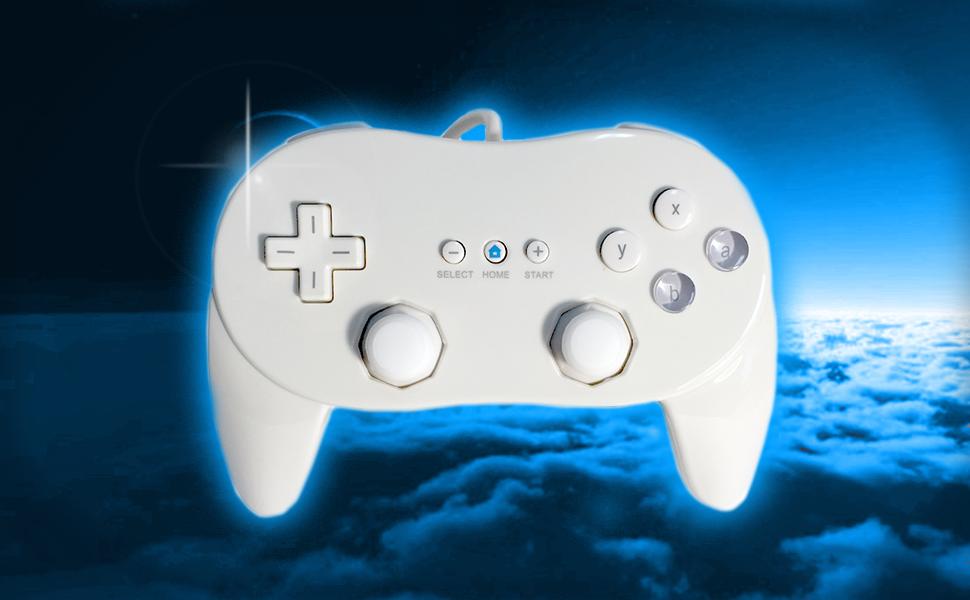 Old Skool GameCube controller compatible nintendo classic wiimote videogame gamer zelda hyperkin up