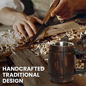 Handcrafted Traditional Design