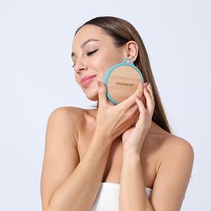 boie silicone body scrubber shower brush exfoliating back