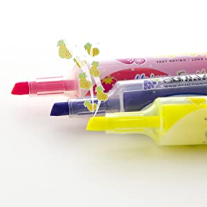 BAZIC Fruit Scented Mini Highlighters