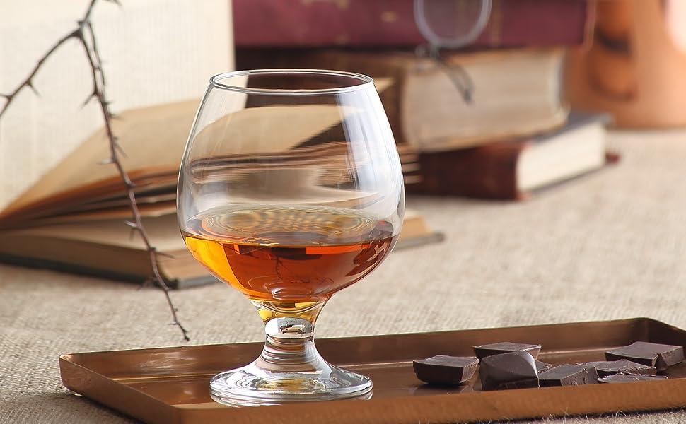 cognac brandy glasses durable elegant
