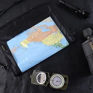 map case waterproof military