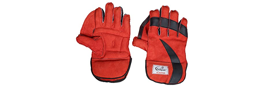 Prokyde Aligator Wicket Keeping Gloves 01