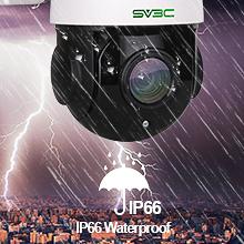 IP66 waterproof camera vandal proof camera outdoor waterproof wifi camera wireless security camera