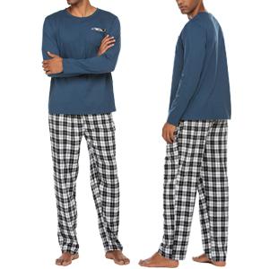 ekouaer plaid pant pajama