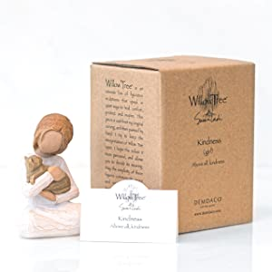 Willow Tree Kindness figure with packaging and enclosure card.