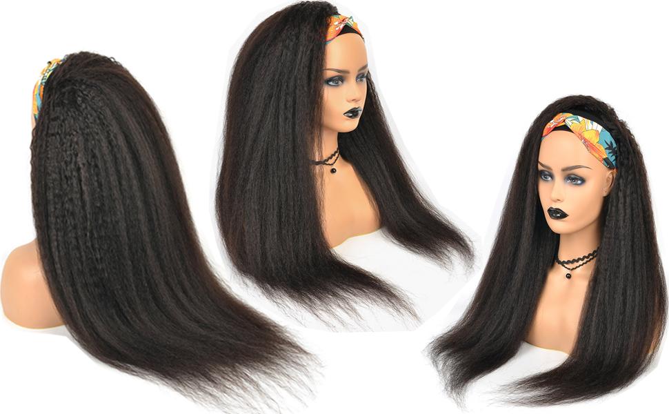 JINREN Human Hair Wigs for Women