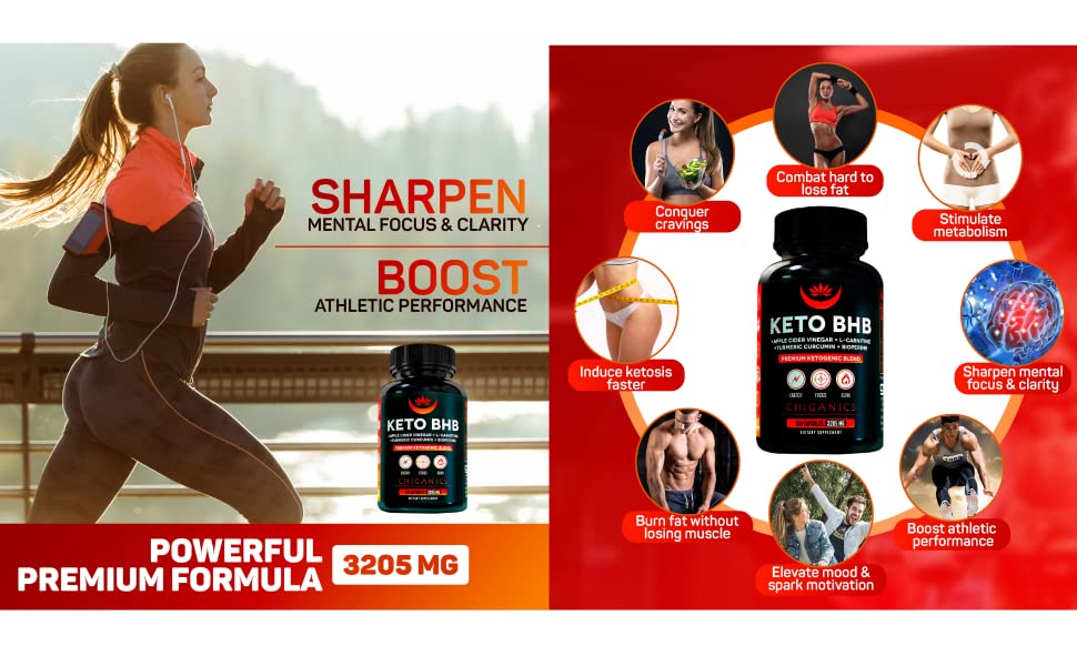 sharpen mental focus and clarity boost athletic performance powerful keto supplement keto pills work