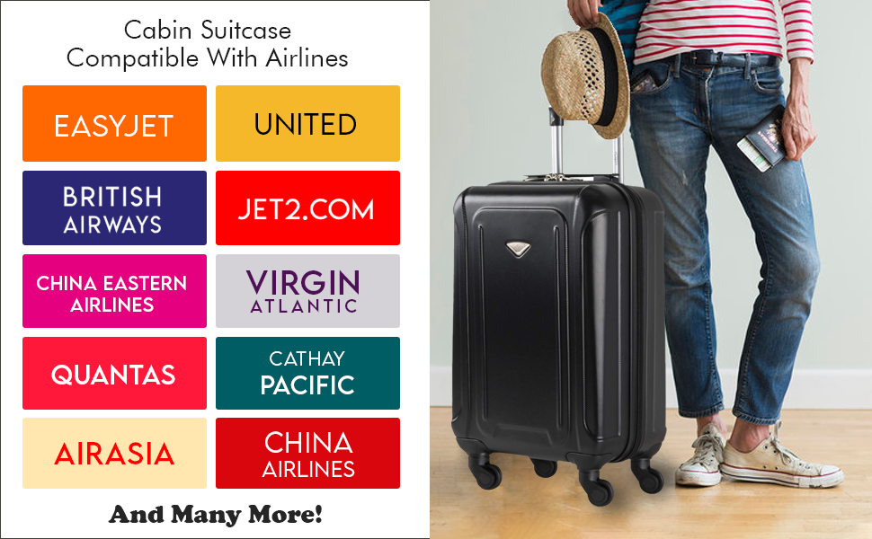 lightweight suitcase for virgin atlantic