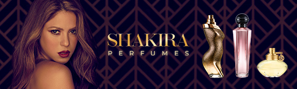 SHAKIRA PERFUMES for women best sellers and picture inspired in Shakira music albums.