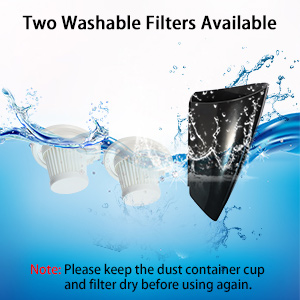 Two washer filters